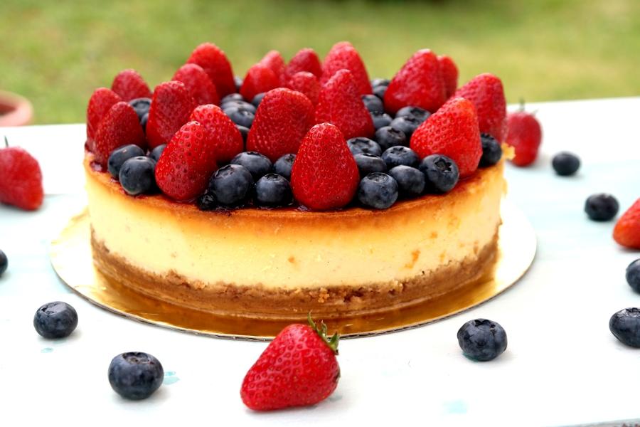 Früchte-Cheesecake