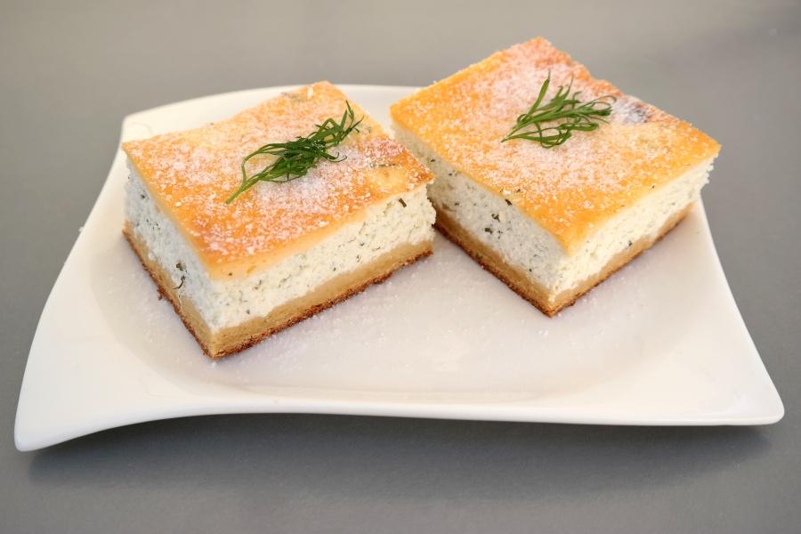 Topfen-Dille-Kuchen