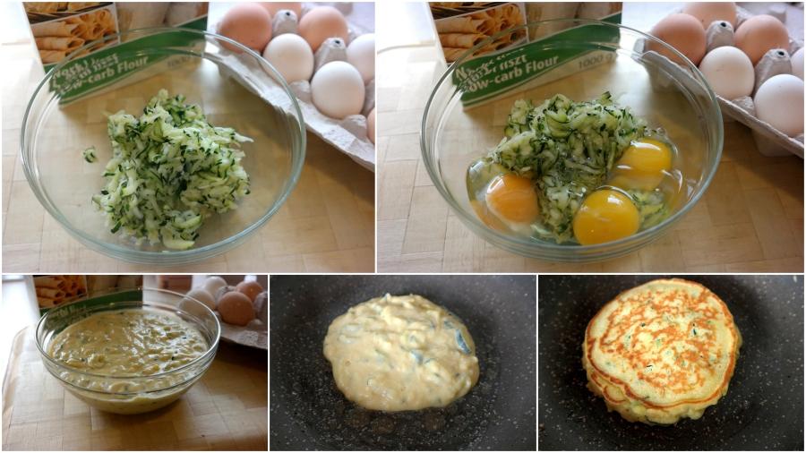 Zucchini-Parmesan-Pancake